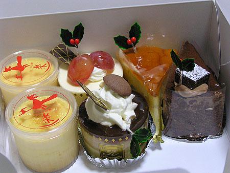 楽のケーキ!
